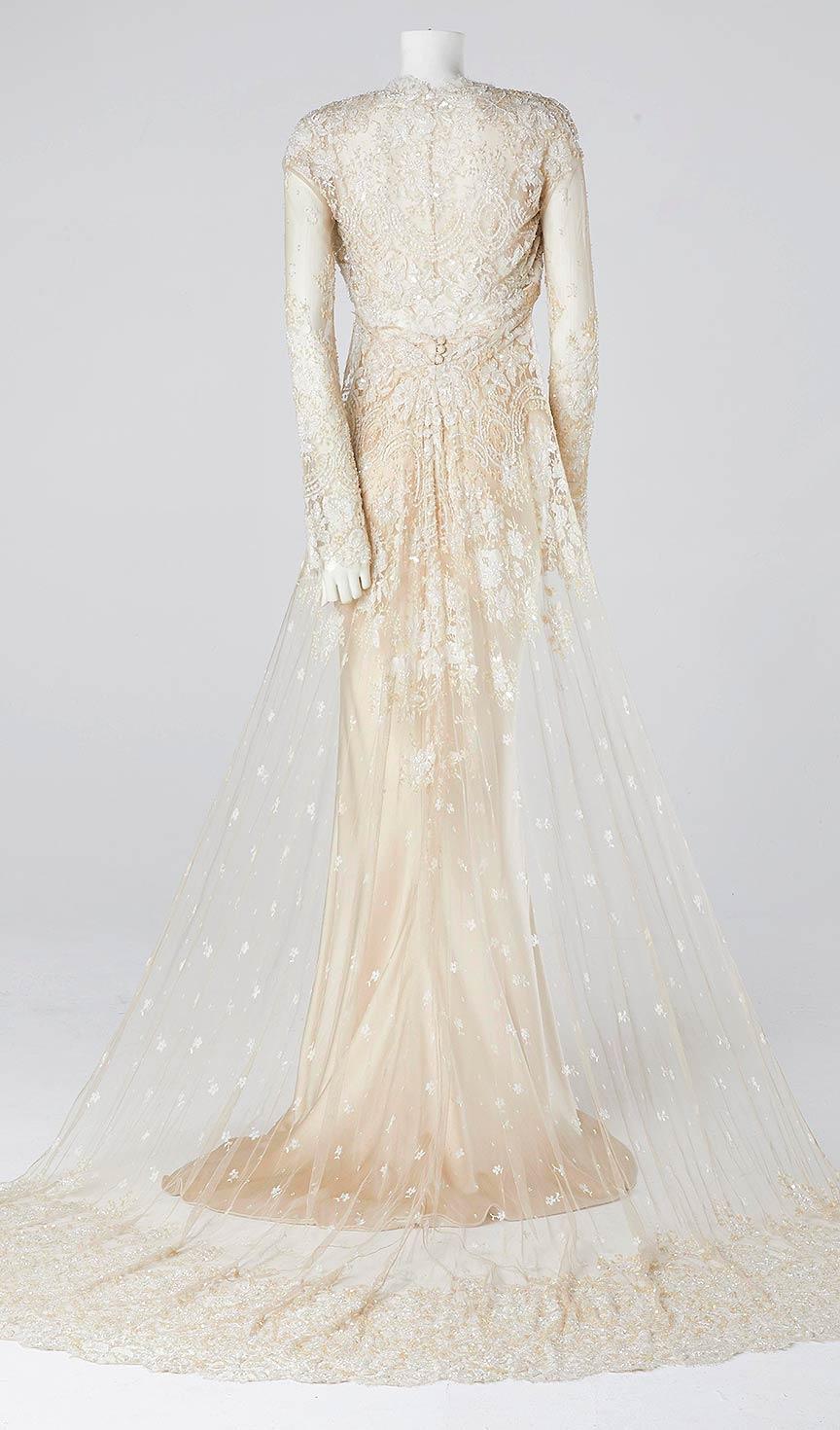 Satin Fishtail Wedding Dress : Couture designer of wedding dresses mother bride