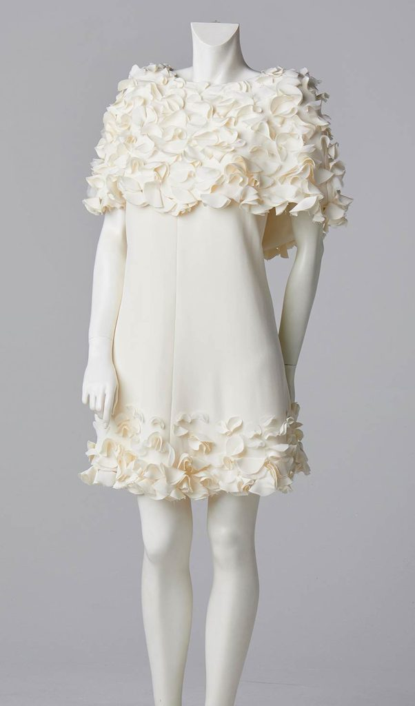 couture bespoke evening wear party dress white south london