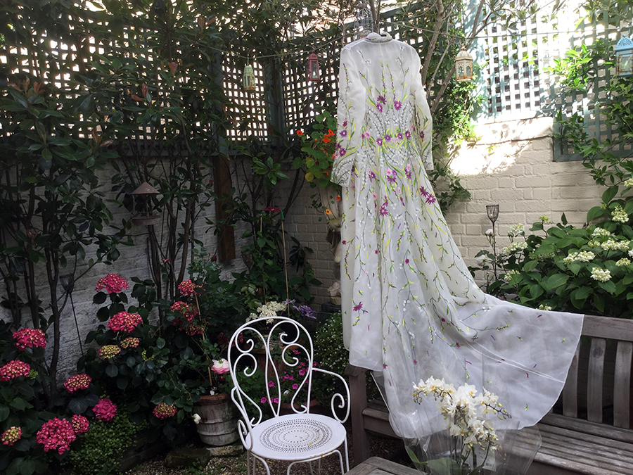 brides dress designer london