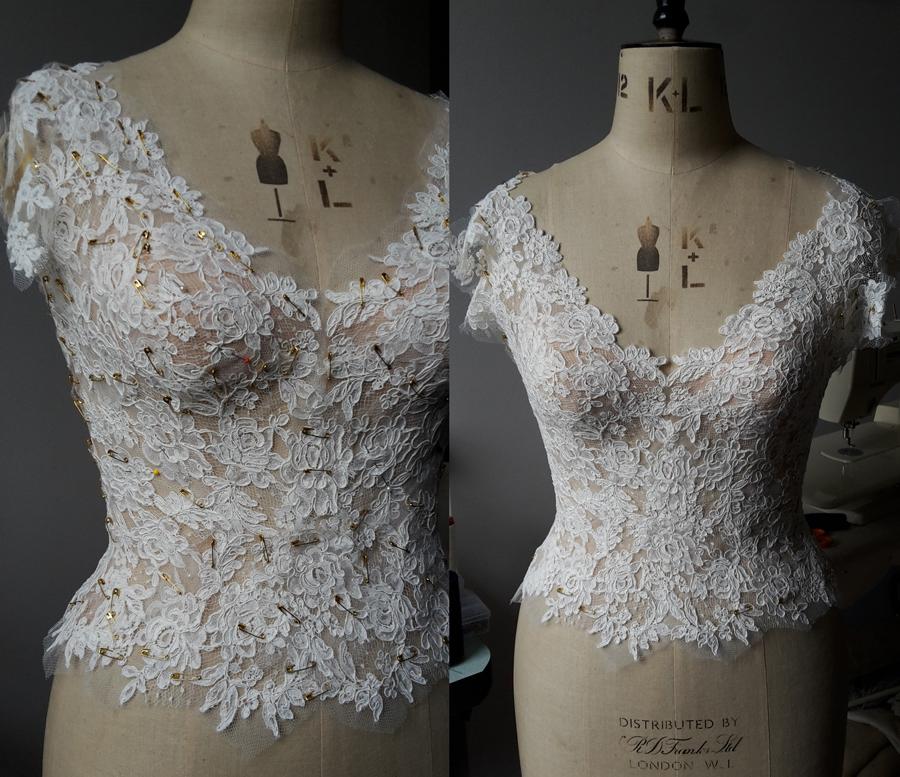 AR BOM Dress Detailing