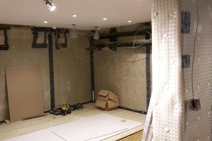 AR New Shop - Cladding Floor