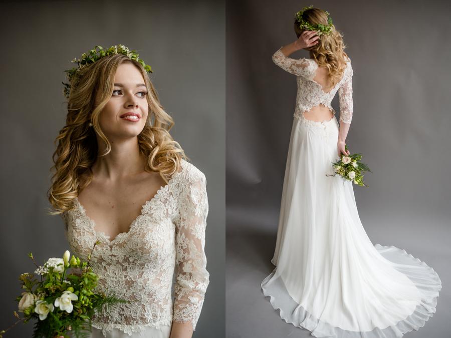 Alison Roger Boho Bride Dress